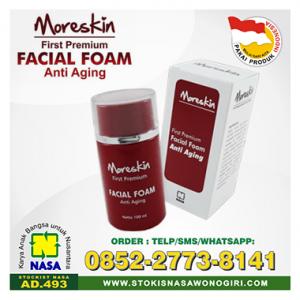 moreskin facial foam