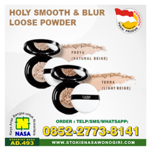 looke holy smooth & blur loose powder