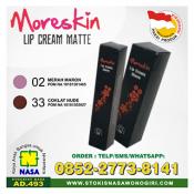 moreskin lip cream matte 33 02